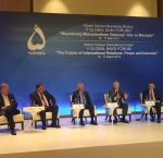 International IDEA Secretary-General participates in panel on the Future of Europe at 5th Global Baku Forum