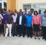 Participants in the tax training this June. Image credit: International IDEA