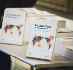 The Global State of Democracy Publication (Stuudio Huusmann / International IDEA).