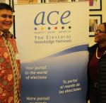 ACE Electoral Knowledge Network 20th Anniversary Reception, Stockholm, 24 January 2018. Photo credit: International IDEA/ Ruby Leahy Gatfield.