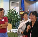 Left to right: Daw Khin Lay (Director Triangle – Women's Support Group), Daw Pansy Tun Thein (Advisor, Gender Equality Network) and Professor Dr. Khin Mar Yee (Head of the Department of Law, University of Yangon