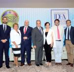 Left to right: Miguel Ángel Lara Otaola, International IDEA; María Elena Wapenka, Electoral Tribunal of Paraguay; Alfredo Juncá, Electoral Tribunal of Panama; Daniel Zovatto, International IDEA ; Liliana Elósegui, Verificado; Rafael Rubio, Universidad Complutense de Madrid, Spain; Ramiro Álvarez Ugarte, Universidad de Palermo, Argentina. Image credit: International IDEA.