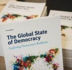 The Global State of Democracy publication. Image: International IDEA / Stuudio Huusmann
