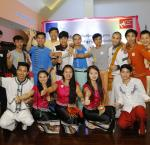 Group photo of youth participants at International IDEA' Myanmar Office International Day of Democracy event