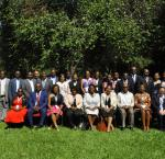 Group photograph of the New Commissioners' Orientation participants. Photo credit: Chris Sekani (HAAG Photo Graphics)