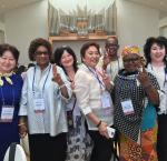 Commissionaires and senior staff of EMBs attending the SIFE 2017. Photo credit: Leena Rikkilä Tamang, International IDEA
