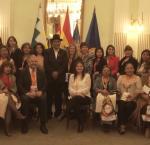 Idea Internacional presenta Campaña  #Protagonistas en un curso para mujeres candidatas
