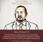 Ethiopia's  Abiy Ahmed