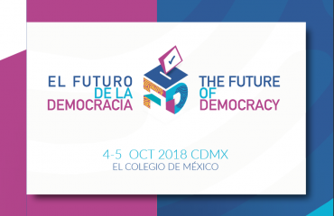 The Future of Democracy, 4-5 October 2018, Mexico City.