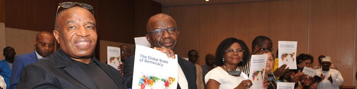 GSoD report launch in Cotonou, 2017