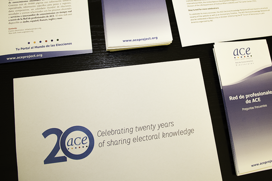 ACE Electoral Knowledge Network: Celebrating 20 years of sharing electoral knowledge.