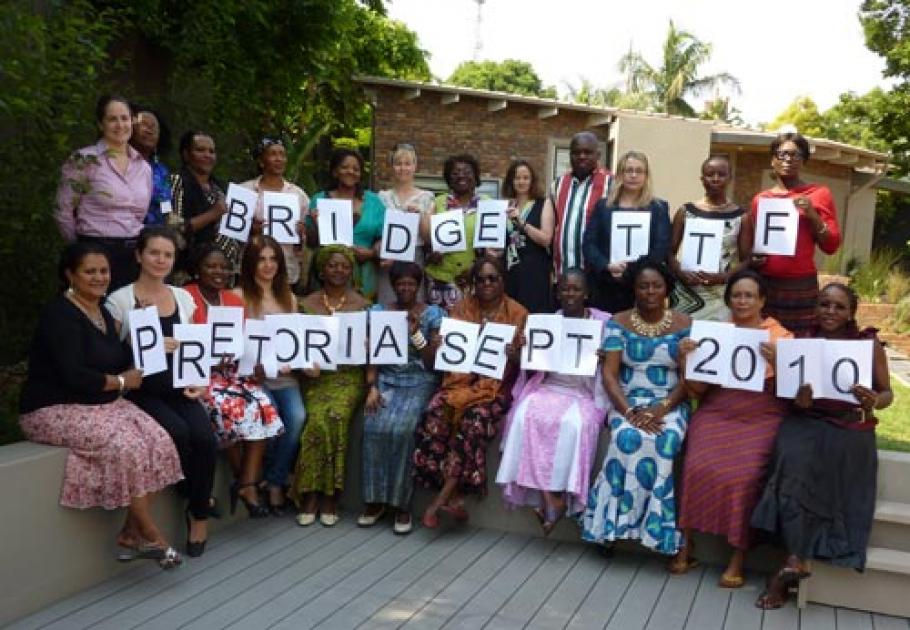 BRIDGE Train the Facilitators (TtF) workshop for gender specialists in Pretoria, South Africa from 27 September – 8 October 2010
