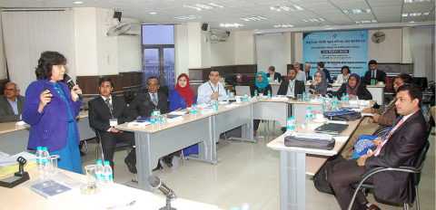 A workshop at the Elections Commission of India (photo from archive). Photo credit: Elections Commission of India