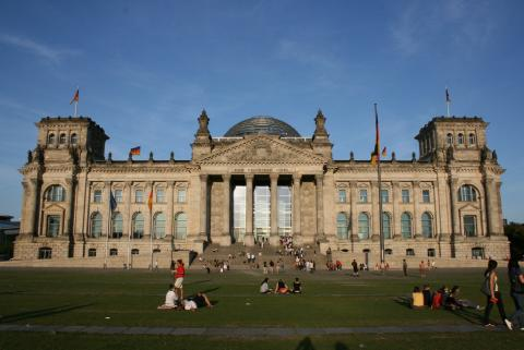 The Bundestag -The national Parliament of the Republic of Germany inBerlin. Photo credit:Tommy Falgout