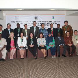 Asian-African practitioners' meeting on political finance regulation and the eradication of corruption