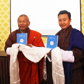 Hon Speaker of NA and the Hon Deputy Chairperson of NC , during the launch of the manuals. Photo Credit: NA website.