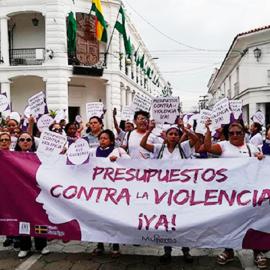 Photo credit: Coordinadora de la Mujer