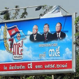Election Season: A Test of the Authoritarian Strength of the Hun Sen-led government. Photo credit: Michael Coghlan@flickr