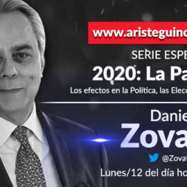 2020: La Pandemia, serie especial de conversaciones con expertos coordinada por Daniel Zovatto en Aristegui Noticias.