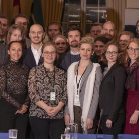 The Swedish Diplomatic Training Programme visit to International IDEA Headquarters. Image credit: Lisa Hagman, International IDEA.