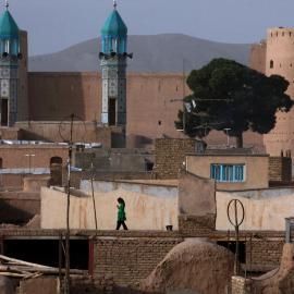 Niña en Afganistán