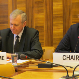 Yves Leterme at the UN Office in Geneva