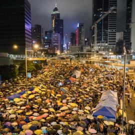 31th Day Hong Kong Umbrella Revolution